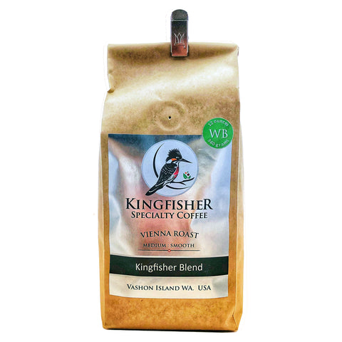 Kingfisher Coffee - Vienna Blend Whole Bean
