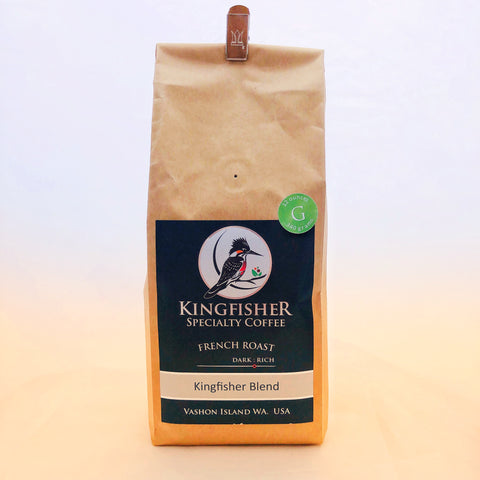 Kingfisher Coffee - French Blend Whole Bean