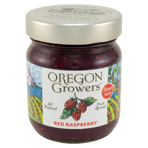 Red Raspberry - Oregon Growers Jam