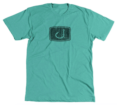 Avid Men's Tee Shirt Medium Avid, Men's Distressed Graphic Tee (Mint Green)