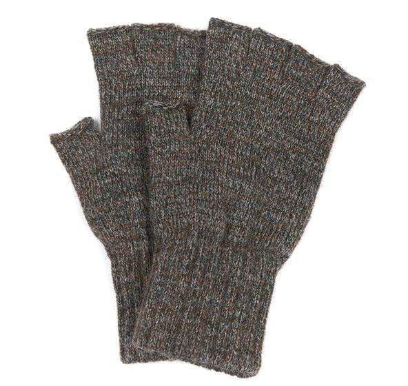Barbour Men's Gloves Large / Green Barbour, Men's Fingerless Gloves (Multiple Colors)