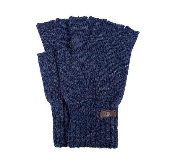 Barbour Men's Gloves Medium / Navy Blue Barbour, Men's Fingerless Gloves (Multiple Colors)
