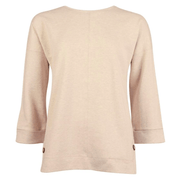 Barbour Women's Sweaters Barbour, Women's Monteith Overlayer Sweater (Oatmeal)