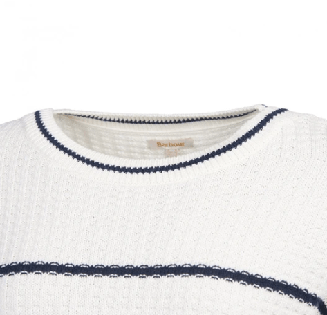 Barbour Women's Sweaters Barbour, Women's Petrel Knit Sweater (White)