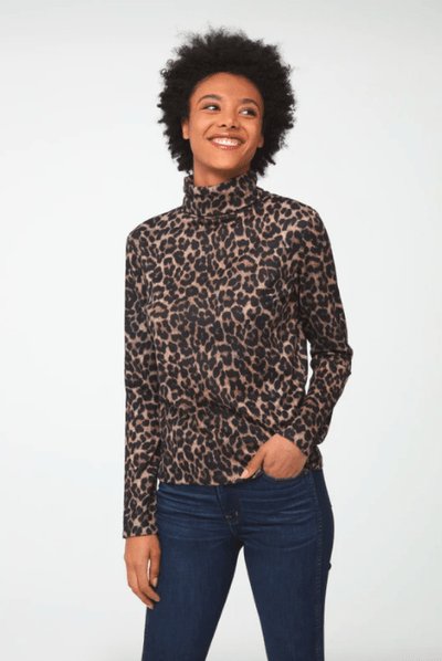 Beach Lunch Lounge Women's Sweaters Medium / Leopard Tan Beach Lunch Lounge, Women's Shayna Sweater (Multiple Colors)