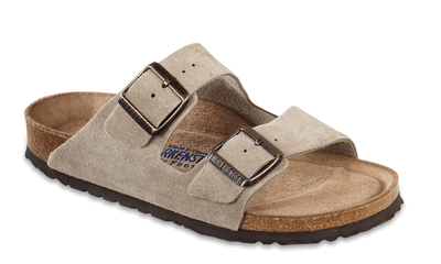 Birkenstock Women's Sandals 36 / Taupe Khaki Birkenstock, Women's Arizona Soft Footbed (Multiple Colors)