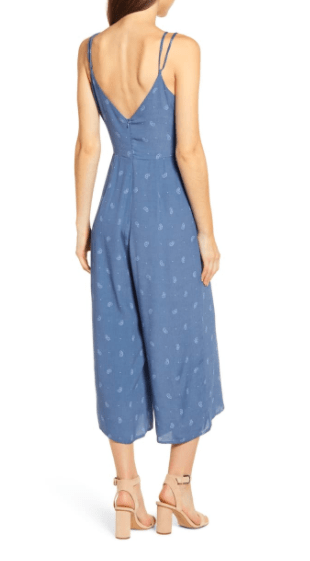 Bishop & Young Women's Jumpsuits Bishop & Young, Women's Peekaboo Jumpsuit (Blue)