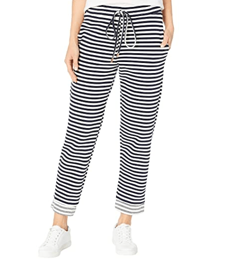 Bishop & Young Women's Pants Large / Navy Bishop & Young, Women's Tradewind Jogger (Navy Stripe)
