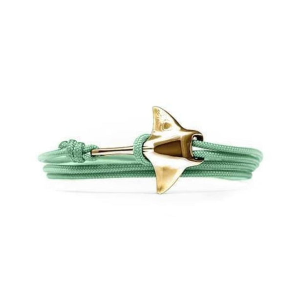 Cape Clasp Bracelet Cape Clasp, Manta Ray Clasp Bracelet (Multiple Colors)