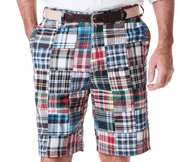 Castaway Men's Shorts 33 Castaway, Men's Madras Short (Classic)