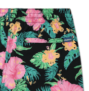 Chubbies Men's Bathing Suit Chubbies, Men's Lined Midnight Flowers Swim Volleys (Floral Black)