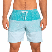 Chubbies Men's Bathing Suit Chubbies, Men's Whale Shark Swim Volleys (Blue)