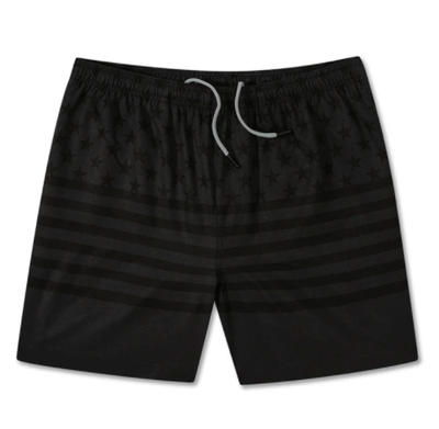 Chubbies Men's Bathing Suit Large Chubbies, Men's Yessir Swim Volleys (Black)