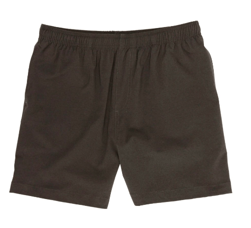 Chubbies Men's Shorts Chubbies, Men's 5.5 Inch Flints Gym Shorts (Black)