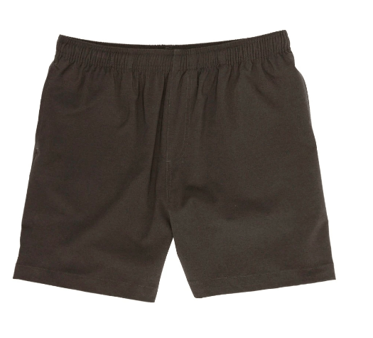 Chubbies Men's Shorts Large / Black Chubbies, Men's 5.5 Inch Flints Gym Shorts (Black)