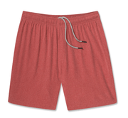 "Chubbies Men's Shorts Large / Red Chubbies, Men's 7"" Volcanics (Red)"