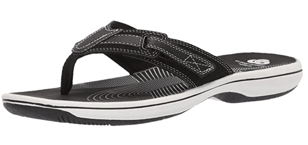 Clarks Women's Sandals 6 / Black Clarks, Women's Brinkley Reef Sandal (Multiple Colors)