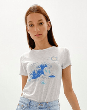 Comune Women's Tee Shirt Medium / Water Comune, Women's Zodiac Signs Tee (Multiple Colors)