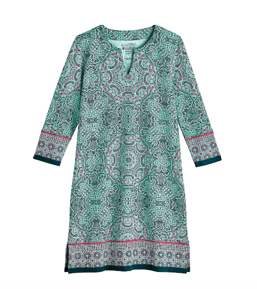Coolibar Women's Dresses Coolibar, Oceanside Tunic Dress (Multiple Colors)