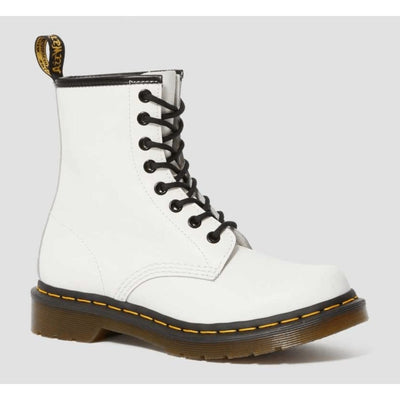 Dr. Martens, Women's Smooth Boot (White)