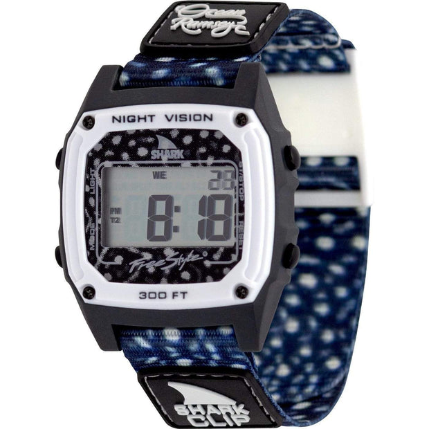 Freestyle Watches Freestyle, Classic Clip Shark Watch (Ocean Ramsey Signature)