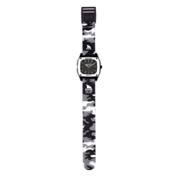 Freestyle Watches Snow Camo Freestyle, Classic Clip Analog Shark Watch (Snow Blind)