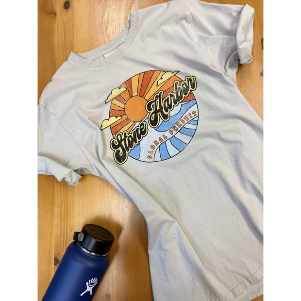 Global Pursuit, Men's Stone Harbor/Avalon Tee (Cool Grey)