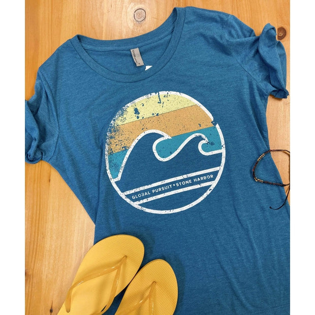 Local, Global Pursuit, Stone Harbor Tee