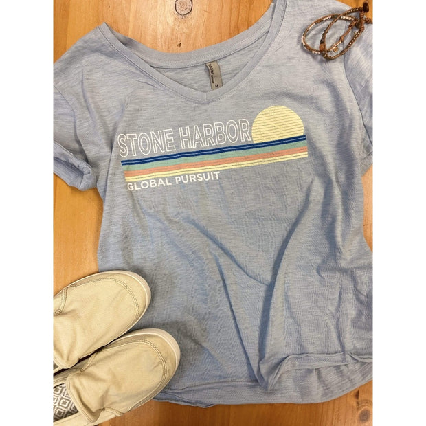Local, Global Pursuit, Stone Harbor & Avalon Tee