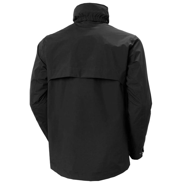 Helly Hansen Men's Jacket Helly Hansen, Men's Utility Rain Jacket (Black)