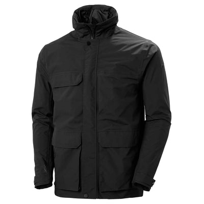 Helly Hansen Men's Jacket Medium Helly Hansen, Men's Utility Rain Jacket (Black)