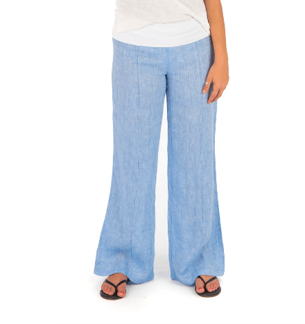 Hiho Women's Pants Small / Chambray Blue Hiho, Women's Marigot Roll Down Pants (Multiple Colors)