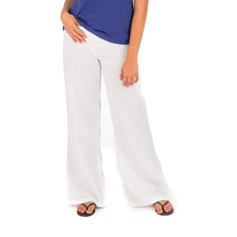 Hiho Women's Pants XS / White Hiho, Women's Marigot Roll Down Pants (Multiple Colors)