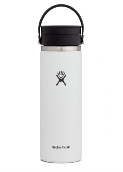 Hydro Flask Coffee Mug White Hydro Flask, 20 Ounce Coffee Wide Flex Mouth (White)