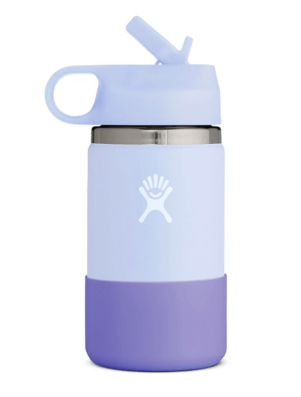 Hydro Flask Water Bottle Lavender Fog Hydro Flask, Kid's 12 Ounce Wide Mouth (Fog)