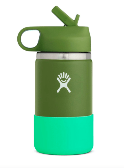 Hydro Flask Water Bottle Olive Green Hydro Flask, Kid's 12 Ounce Wide Mouth (Olive)