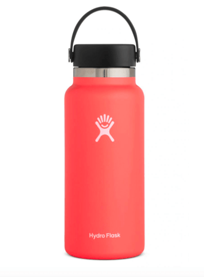 Hydro Flask Water Bottle One Size / Hibiscus Pink Hydro Flask, 32 Ounce (Hibiscus)