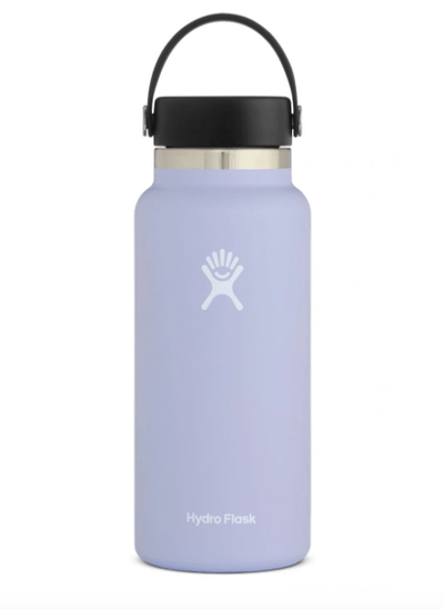Hydro Flask Water Bottle One Size / Lavender Fog Hydro Flask, 32 Ounce Wide Mouth (Fog)