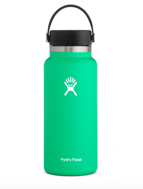 Hydro Flask Water Bottle One Size / Mint Green Hydro Flask, 32 Ounce Wide Mouth (Spearmint)