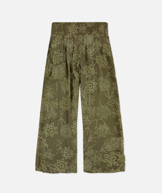 Jetty Women's Pants Large / Olive Green Jetty, Women's Drift Gaucho Pant (Olive Green)