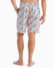 "Johnnie-O Men's Bathing Suit Johnnie-O, Men's 8.25"" Nevis Volley/Board Short (Floral)"