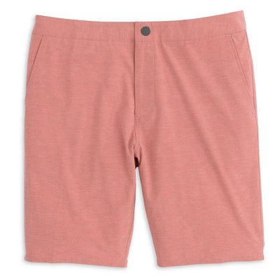 Johnnie-O Men's Shorts Malibu Red / 32 Johnnie-O, Men's Dawn 2 Dusk Hybrid Shorts (Multiple Colors)
