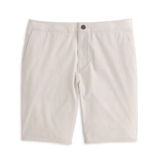 Johnnie-O Men's Shorts Stone / 35 Johnnie-O, Men's Dawn 2 Dusk Hybrid Shorts (Multiple Colors)