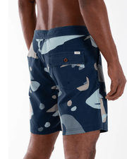 Katin Men's Bathing Suit Katin, Men's Hew Boardshorts (Navy Blue)