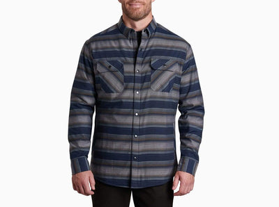 Kuhl Men's Jacket Large / Indigo Blue KÜHL, Men's Joyrydr Shirt Jacket (Indigo Blue)