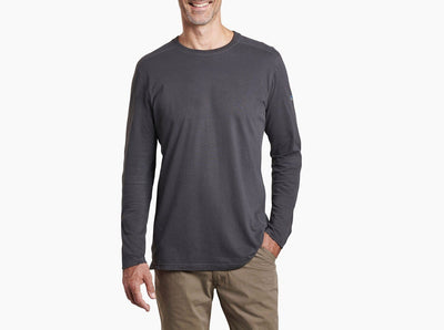 Kuhl Men's Long Sleeve Tee Large / Carbon Grey Kuhl, Men's Bravado Long-Sleeve Tee (Multiple Colors)