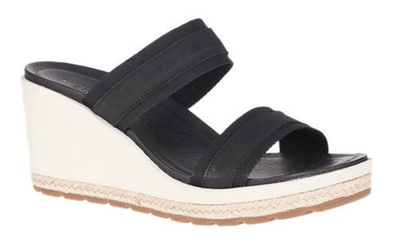 Merrell Women's Sandals 6 Merrell, Women's Kaiteri Slide Wedge (Black)
