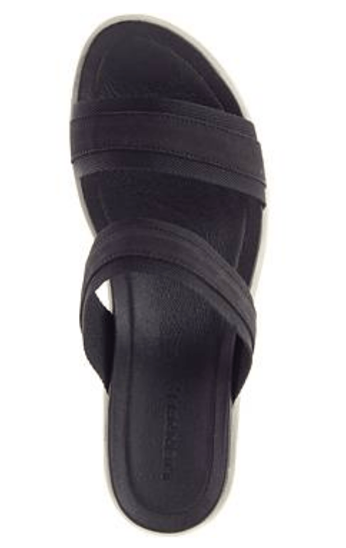 Merrell Women's Sandals Merrell, Women's Kaiteri Slide Wedge (Black)