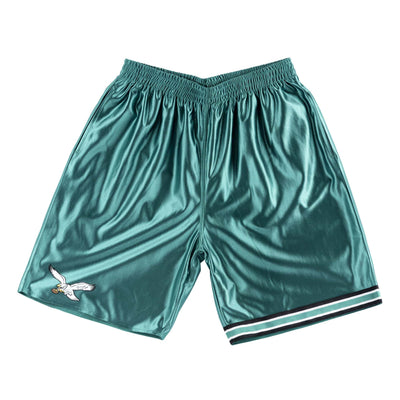 Mitchell & Ness Men's Shorts Large / Green Mitchell & Ness, Men's Eagles Dazzle Short (Green)