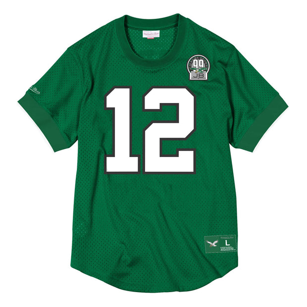Mitchell & Ness Men's Tee Shirt Large / Green Mitchell & Ness, Men's Randall Cunningham Crewneck (Green)